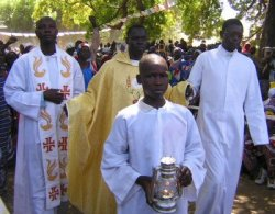 Ordination de Romain Daba